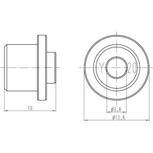 Harting Krimptangbek 0001 Han-Yellock® - 09990000342 | Han-Yellock®