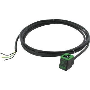 Stekker 10mm,3mtr kabel,PUR/PVC - 10021MSUDB | 4A A | 5,9 mm | 0,75 mm² | 187 g | 3 m