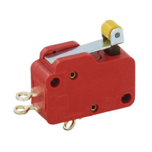 Micro schakelaar V3,rolbediend - 10060701
