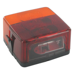 Jokon Achterlamp - 101002100 | BBS(K) 205 | links / rechts | Opbouw | 103 mm | 100 mm | E1 0153305