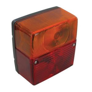 Jokon Achterlamp - 101036000 | BBS 206 ZA | links / rechts | Opbouw | Bajonett | 104 mm | 100 mm | E3 56284