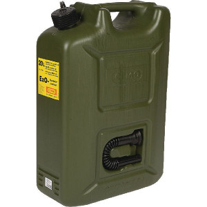 Cemo Jerrycan Ex0 20L - 10269CEMO | Niet-explosief | Brandstof | 20 l