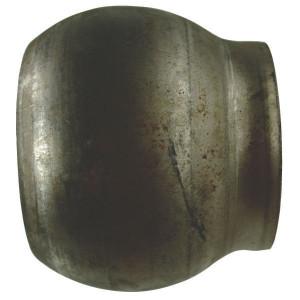 Bauer Bol 159mm - 1070182 | Blank stalen uitvoering | Goede laseigenschappen | 154 mm | 179,5 mm | 119 mm | 6 Inch