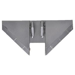 Vleugel voor Discodent - 107803700CN   280 mm   280 mm