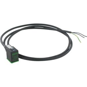 Stekker 11mm, 1.5mtr kabel,PU - 11021MSUDB16260150 | 4A A