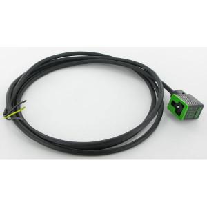 Stekker 11mm,2mtr kabel,PUR/PVC - 11021MSUDB16260200 | 4A A | 2 m | 187 g | 5,9 mm | 0,75 mm²