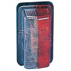 Breedtelamp Jokon - 120001000 | Contourverlichting | SPL 39 | Opbouw | 12/24 V | 31 mm | Rood / wit | E1 21403