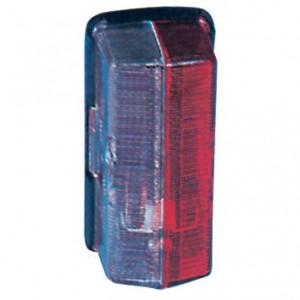 Breedtelamp Jokon - 120007000 | Contourverlichting | SPL 07 | Opbouw | 12/24 V | 37 mm | Rood / wit | E1 0231426