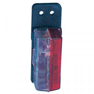 Breedtelamp Jokon - 120007010 | Contourverlichting | Opbouw | 12/24 V | 122 mm | 42 mm | Rood / wit | E1 0231426