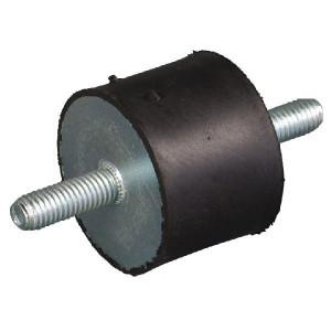 Trillingsdemper TYPE A - 12555A55 | 125 mm | 55 mm | M16 x 45 mm | 55 ° SH