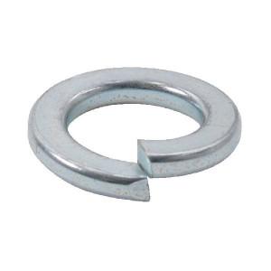 Veerring M12 verz. - 127B12RC | 12,2 mm | 21,1 mm | 5 mm | 2,5 mm | DIN 127b | Verzinkt | 0,2 kg/100