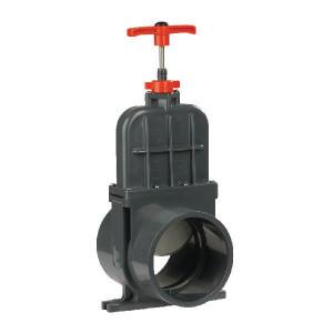 VdL Schuifafsluiter PVC D110mm kort - 1300110V | 107 mm | 110 mm | 0,5 bar | 290 mm | 158 mm | 0,5 bar