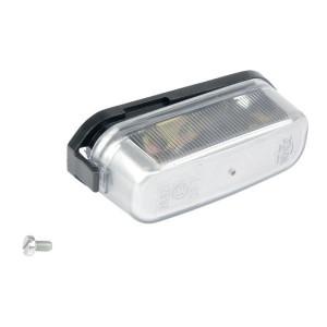 Kentekenlamp Jokon - 134001101 | Behuizing van kunststof | schroefaansluiting | Zilver | 5 W | E1 12996