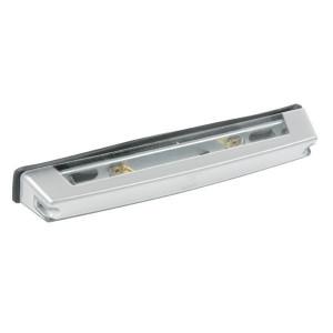 Kentekenlamp Jokon - 134003110 | Behuizing van kunststof | 266 mm | schroefaansluiting | Zilver | 5 W | E1 12996