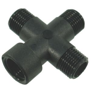 "Arag 4-weg koppeling 1/2"" 3xbu+1xbi - 150120 | 69,5 mm | 16 mm | 1/2"" Inch BSP | 15,5 mm"