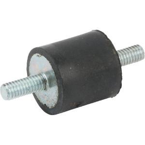 Trillingsdemper TYPE A - 1515A55 | 15 mm | 15 mm | M4 x 10 mm | 55 ° SH | 116 N max | 1.9 mm max