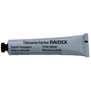Raidex Tatoeëerpasta, zwart, 60 g - 1592361060