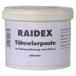 Raidex Tatoeëerpasta, zwart, 600 g - 1592361600