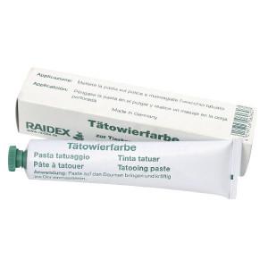 Raidex Tatoeëerpasta, zwart, 60 g - 1592362060