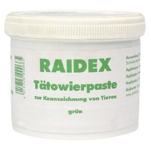 Raidex Tatoeëerpasta, groen, 600 g - 1592362600
