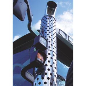 Uitlaatafscherming RVS Steyr, Case IH, New Holland - 162000540303BOB | 162000540303