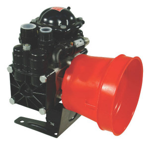 "Annovi Reverberi AR 70 bp C BlueFlex - 16260AR | 60 °C | 74 l/min | 20 bar | 2,5 kW | 3,4 Hp | 2 memrbanen | 1 3/8"" (6) | 550 Rpm | 550 omw./min. | BlueFlex | 279 mm | 232 mm | 335 mm | 1 3/8 Inch | 9,5 kg"