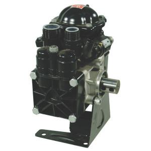 Annovi Reverberi Plunjerpomp AR70 bp SP BlueFl - 16261AR | 60 °C | 74 l/min | 20 bar | 2,5 kW | 3,4 Hp | 2 memrbanen | 35mm cilindrische as | 550 Rpm | 550 omw./min. | BlueFlex | 245 mm | 232 mm | 335 mm | 9,5 kg | universal Inch