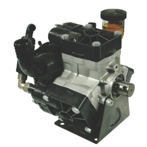 Annovi Reverberi AR 115 bp SP BlueFlex - 16263AR | 60 °C | 114 l/min | 20 bar | 4,1 kW | 5,57 Hp | 35mm cilindrische as | 550 Rpm | 550 omw./min. | BlueFlex | 304 mm | 306 mm | 293 mm | universal Inch