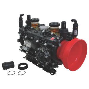 Annovi Reverberi AR 320 bp Twin AP C/C BlueFlex - 16273AR | 60 °C | 321 l/min | 20 bar | 12,35 kW | 16,8 Hp | 550 Rpm | 550 omw./min. | BlueFlex | 632 mm | 461 mm | 430 mm | 2x 1 3/8 Inch | 20 bar