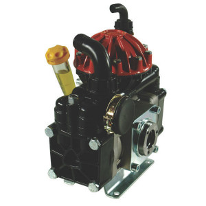Annovi Reverberi AR 50 SP SGC BlueFlex - 16284AR | Lange levensduur | 60 °C | 52 l/min | 40 bar | 3,7 kW | 3,4 Hp | 2 memrbanen | Universal | 550 Rpm | 550 omw./min. | BlueFlex | 210 mm | 302 mm | 342 mm | universal Inch | 17,5 kg