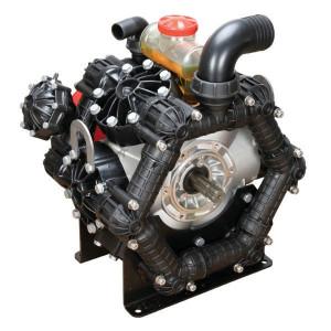 Annovi Reverberi AR 460 bp AP C/C BlueFlex - 16397AR | 60 °C | 453 l/min | 20 bar | 16,98 kW | 23,1 Hp | 550 Rpm | 550 omw./min. | BlueFlex | 2x 1 3/8 Inch | 78,5 kg