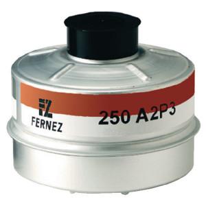 Honeywell Gasfilter 250 A2P3 - 1783010   250 A2P3   Bruin / wit
