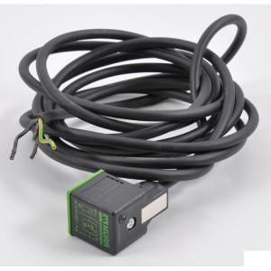 Stekker 18 mm, 3m Kabel PUR/PVC - 18021MSUDA6260300 | 4A A | 3 m | 191 g | 5,9 mm | 0,75 mm²