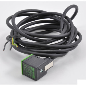 Stekker 18 mm, 10m Kabel PUR/PVC - 18021MSUDA6261000 | 4A A | 10 m | 550 g | 5,9 mm | 0,75 mm²