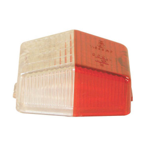 Lampglas Jokon - 191014000 | 12.0003.200 | Rood / wit