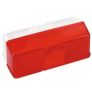 Lampglas/rood/helder Jokon - 191057001 | rood / blanc