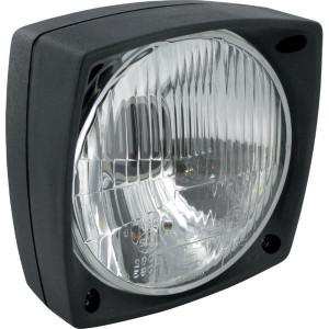 Hella Koplamp - 1A3996026011 | dimgrootposition licht | links / rechts | 12/24 V | Opbouw | 140 mm | 144 mm | 153 mm | E12 1001, E12 1002 | E12 1001/ E12 1002