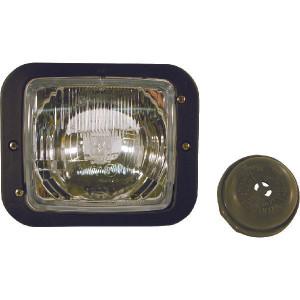 Hella Koplamp inbouw H4 - 1AA004109201 | dimgrootpositon licht | links / rechts | Inbouw | 138 x 124 mm | 173 mm | 144 mm | E1 34463 | E1 34463