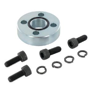 Oleo Tecnica Aansluitflens 3/8 - 1DF06 | Max. 300 bar | 45 mm | 6,5 mm | 3/8 BSP | 11,5 mm | 18,77 x 1,78 | M6 x 16