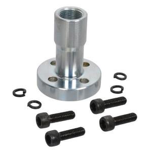 Oleo Tecnica Aansluitflens 3/8 - 1DPF06 | Max. 300 bar | 45 mm | 6,5 mm | 3/8 BSP | 55 mm | 18,77 x 1,78