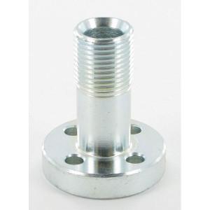 Oleo Tecnica Aansluitflens 1/2 - 1DPM08 | 45 mm | 6,5 mm | 1/2 BSP | 55 mm | 18,77 x 1,78