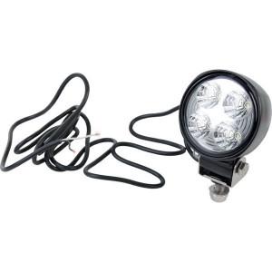 Hella Werklamp rond module 70 LED - 1G0996176723 | 600 lm | 12/24 V | 15 W | Voorveldverlichting | Aanbouw staand | 2.000 mm