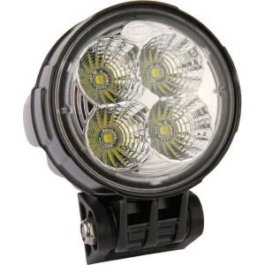 Hella Werklamp rond LED - 1G0996263051 | 2.700 lm | 12/24 V | 12/24 V | Verreikende verlichting | 107 mm | Deutsch | ADR/GGVS