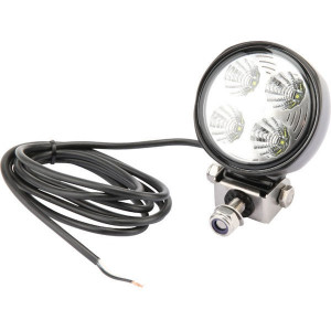 Hella Werklamp rond module 70 LED - 1G0996276453 | 800 lm | 12/24 V | 9-33 V | Voorveldverlichting | Aanbouw staand | 2.000 mm | 6K7/ 6K9K