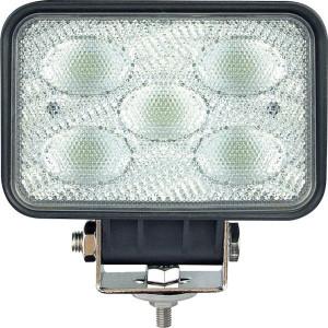 Hella Werklamp vlakke bundel LED - 1GA995193041 | 9-33 V | 7 W | Voorveldverlichting | Aanbouw staand | 2.000 mm | 12/24/9-->33 V | IP67/ IP6K9K | 500/ 550