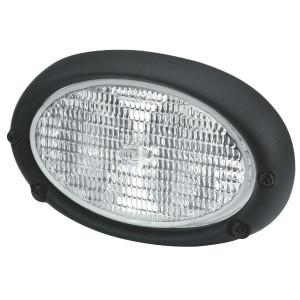 Hella Werklamp ovaal 100 H3 - 1GA996161111 | 2x55 W | Inbouw | IP5K4K | 120 mm