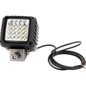 Hella Werklamp Power Beam 3000 LED - 1GA996192011 | 3.000 lm | 43 W | 9-33 V | Verreikende verlichting | Aanbouw staand | 2.000 mm | ADR/GGVS | 83 x 83 mm
