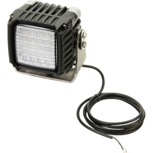Hella Werklamp Power Beam 3000 LED - 1GA996192021 | 3.000 lm | 43 W | 9-33 V | Voorveldverlichting | Aanbouw staand | 2.000 mm | ADR/GGVS | 83 x 83 mm