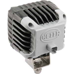 Hella Werklamp Power Beam - 1GA996192061 | 3.000 lm | 12/24/9-->33 V | 43 W | 9-33 V | Voorveldverlichting | Inbouw | DEUTSCH | ADR/GGVS | 83 x 83 mm | IP6K7/ IP6K9K
