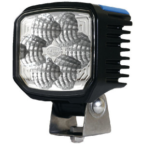 Hella Werklamp Power Beam - 1GA996288001 | 1.300 lm | 12/24/9-->33 V | 22/ 22 W | 12-24 V | Verreikende verlichting | Aanbouw staand / hangend | ADR/GGVS | IP67/ IP6K9K | Deutsch
